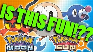 Are Pokémon Sun and Moon even GOOD?!