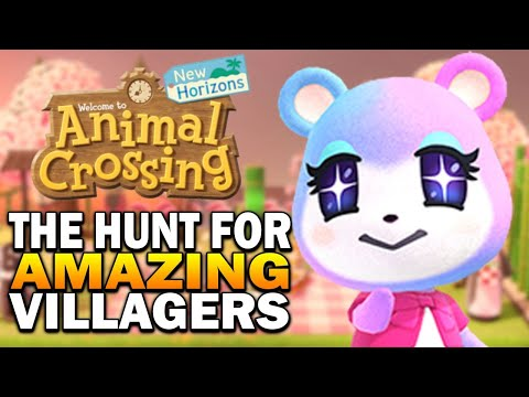 The Hunt For Amazing Villagers! Campsite Method & Mystery Islands - Animal Crossing New Horizons from YouTube · Duration:  1 hour 40 minutes 24 seconds