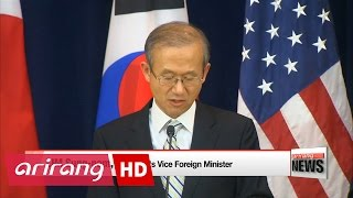 S. Korea, U.S., Japan to enforce cooperation in isolating and pressuring N. Korea