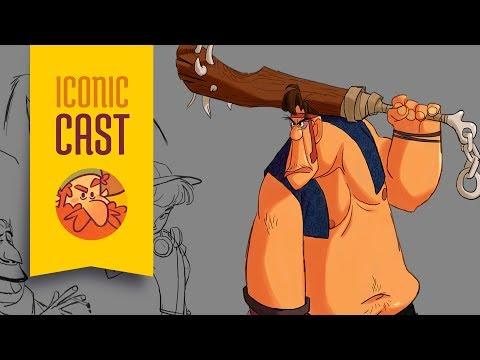 Paulo Ignez, Character Designer e Animador - ICONICast 49