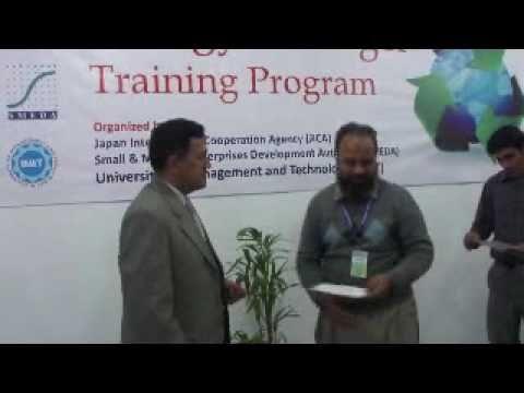 ISC - SMEDA - JICA Energy Manager Training Program 22- 24 Dec 2010 Lahore UMT University Pakistan