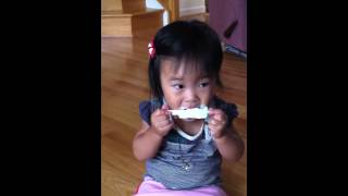 아이스크림먹어요