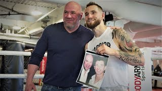 Dana White Reconnects with Undefeated Boxer Cody Crowley