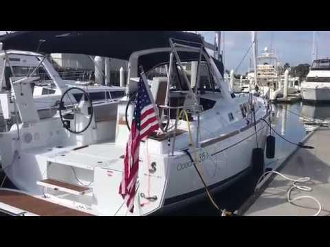 Beneteau Oceanis 35 .1 Walk Through at South Coast Yachts, San Diego
