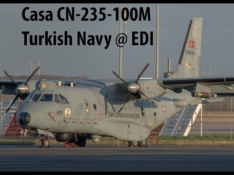 Casa CB-235-100M Turkish Navy at Edinburgh