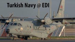 Casa CB-235-100M Turkish Navy at Edinburgh