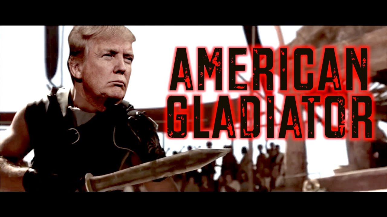 donald gladiator trump fans going love this