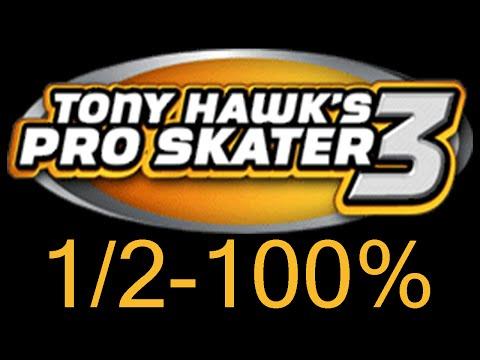 Tony Hawk's Pro Skater 3 100% - Walkthrough [1/2]