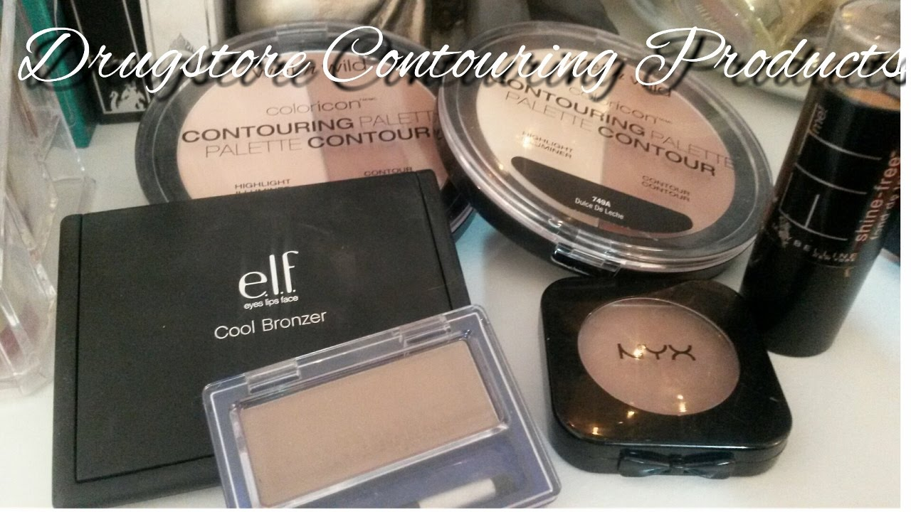 Drugstore Contour Products For Fair Skin With Swatches