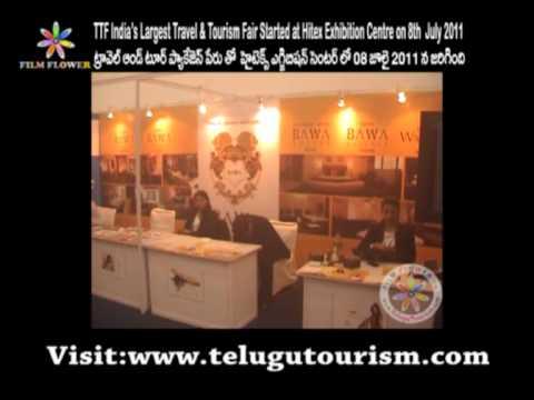 TTF India's Largest Travel & Tourism Fair at Hitex  Exhibition Centre Video 2