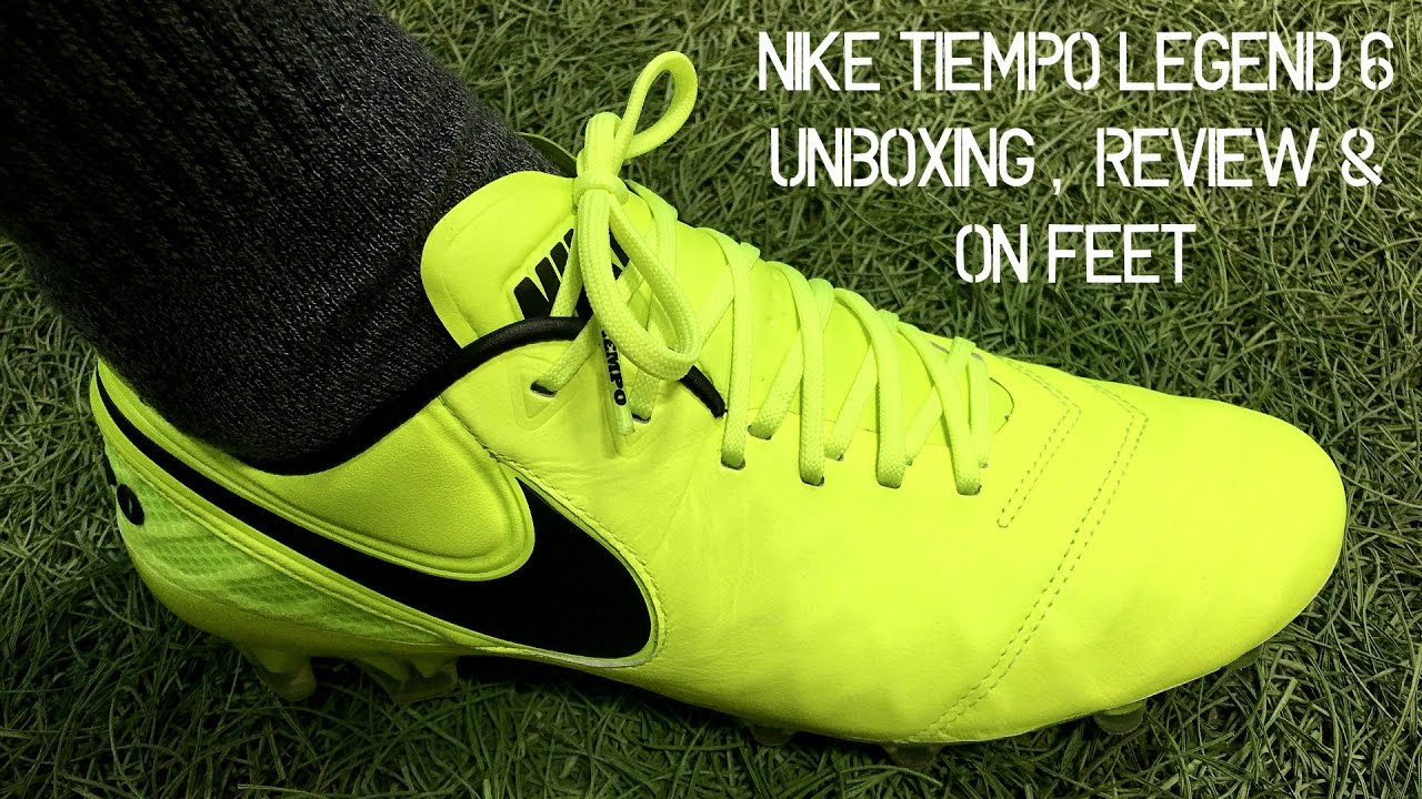 reputable site 2eddb 285b5 Nike Tiempo Legend 6 (Radiation Flare Pack) - Unboxing, Review & On Feet