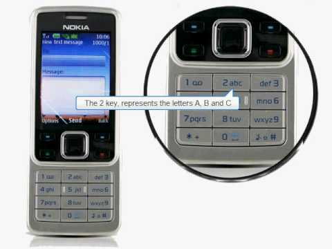Using a Nokia Mobile Phone - Basic Text Messaging