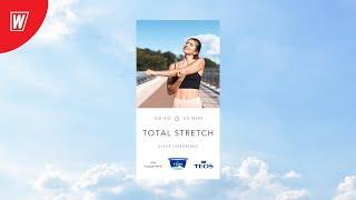 TOTAL STRETCH с Олесей Горковенко 16 ноября 2020 Онлайн тренировки World Class