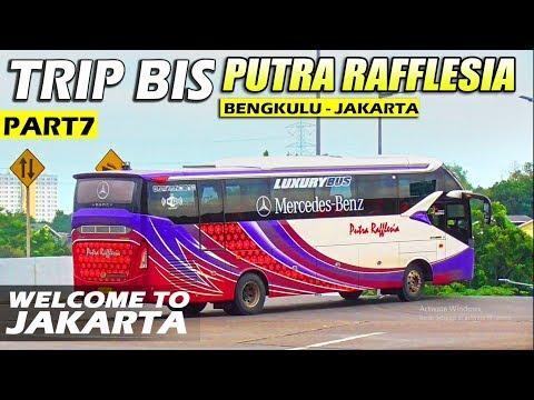 AKHIRNYA NYEBRANG PULAU!!, Part7 Trip Naik Bis Putra Raflfesia Bengkulu Jakarta