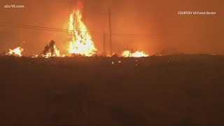 California Wildfires: Tamarack Fire sees 7 structures destroyed
