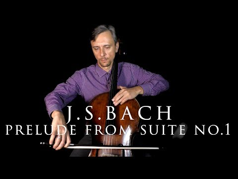 J.S.Bach Prelude In SLOW TEMPO From Cello G Major Suite