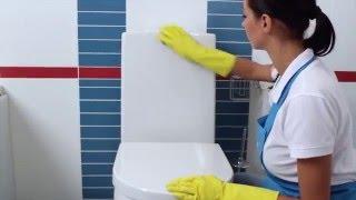 Уборка туалета. Как отмыть унитаз(Уборка туалета. Как отмыть унитаз. Качественная уборка в ванной комнате и туалете это не простая задача...., 2016-02-11T13:10:53.000Z)