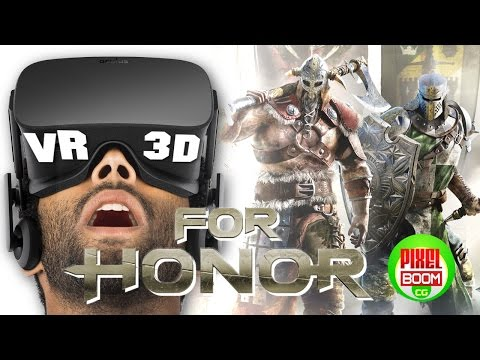 FOR HONOR – Cinematic Trailer Gameplay Campaign Mission - E3 2016 – VR Google Cardboard 3D SBS 1080p