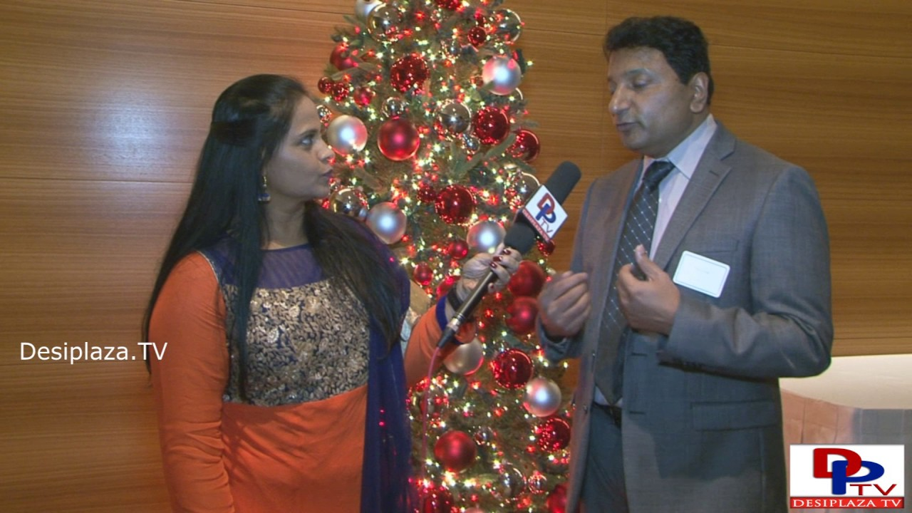 'Entrepreneur of the Year'  Mr. Prabhu Patil of Prolim Global  Corporation speaking to Desiplaza TV