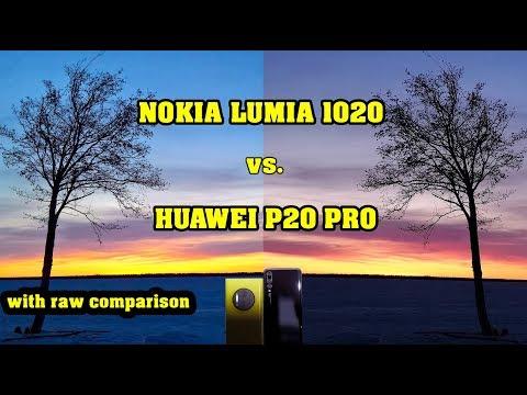 Huawei P20 Pro vs. Nokia Lumia 1020