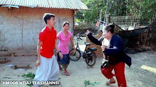 """Hmong new movie funny 2019 """" PAJ QAUM NTUJ MUAG TSHUAJ YUAG"""" lom zem heev"""