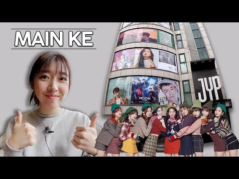 MAIN-MAIN KE JYP ENTERTAINMENT!