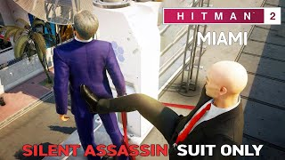 HITMAN 2 Miami The Finish Line Silent Assassin Suit Only (Both Targets at Once)
