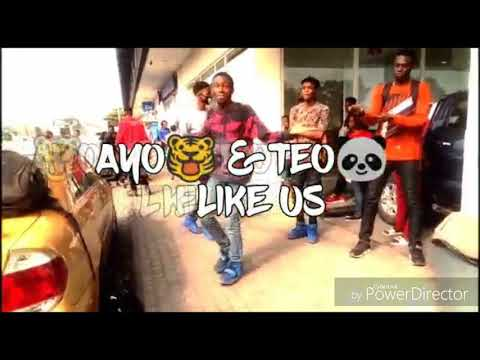 Like us by AYO and teo official dance video