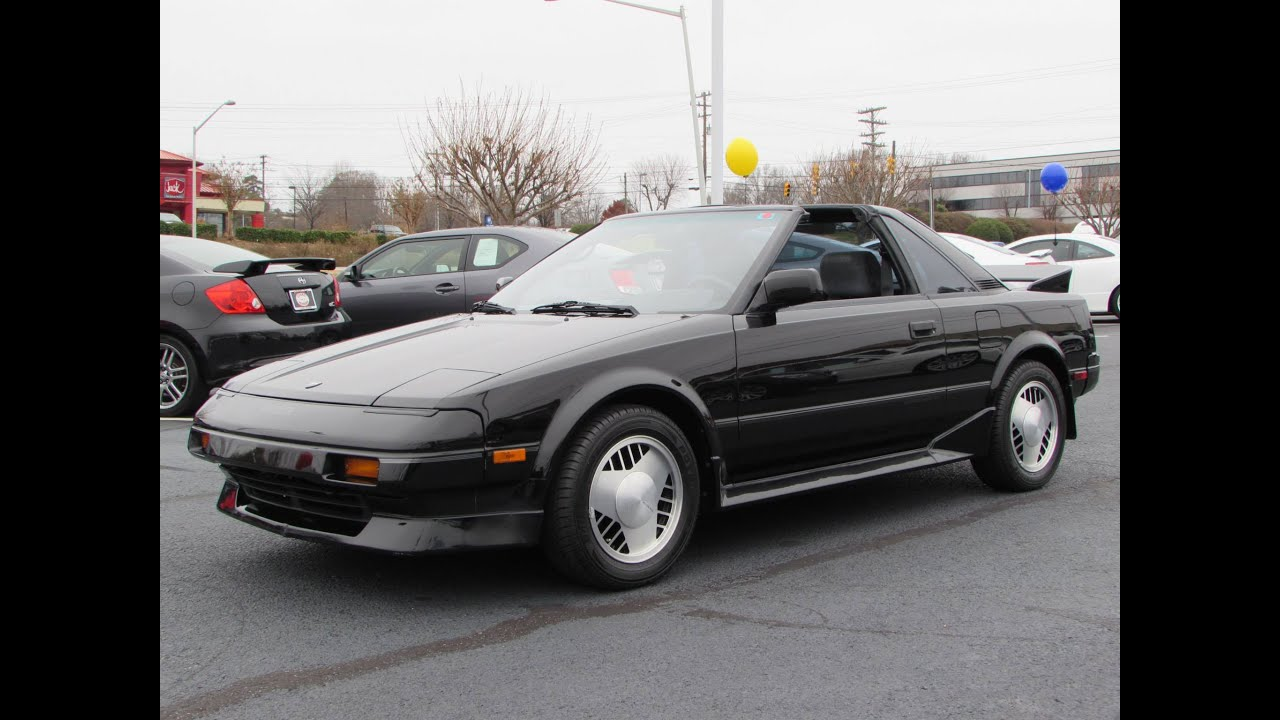 1988 toyota mr2 supercharged mk1 aw11 start up exhaust and in depth review youtube