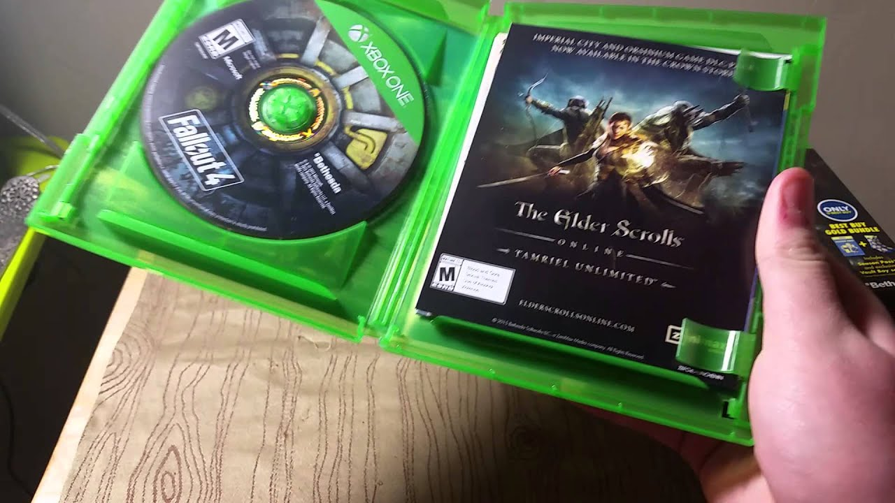 fallout  xbox  unboxing youtube