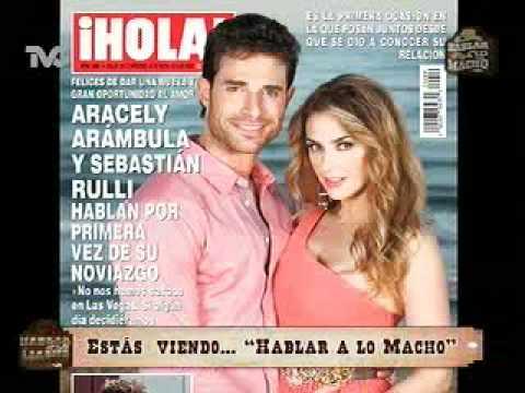Aracely Arámbula y Sebastián Rulli Confirman su Relación ...