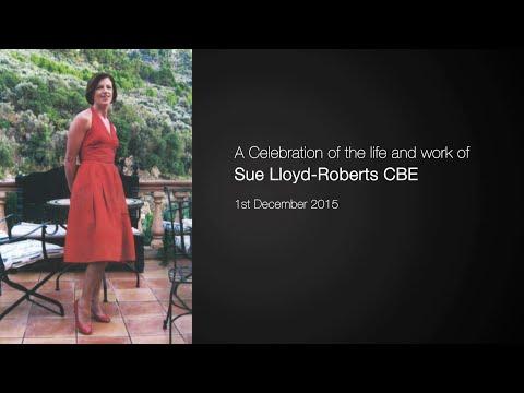 Sue Lloyd Roberts Memorial Service