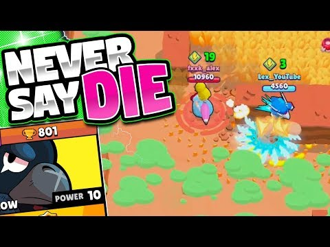 The ULTIMATE COMEBACK! | Crow In Showdown | 250 Trophies In One Push
