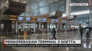 Terminal 3 Ultimate Bandara Soetta, Wajah Baru Gerbang Indonesia