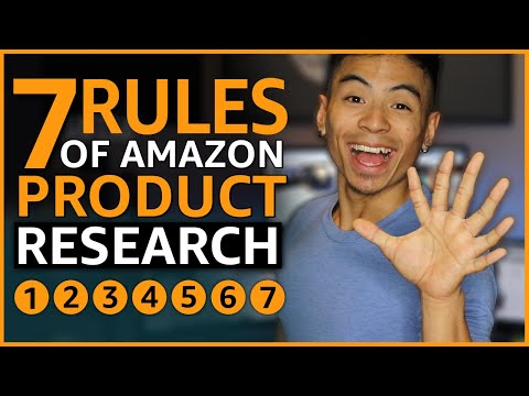 Amazon FBA The 7 Rules of Product Research [MUST Follow]