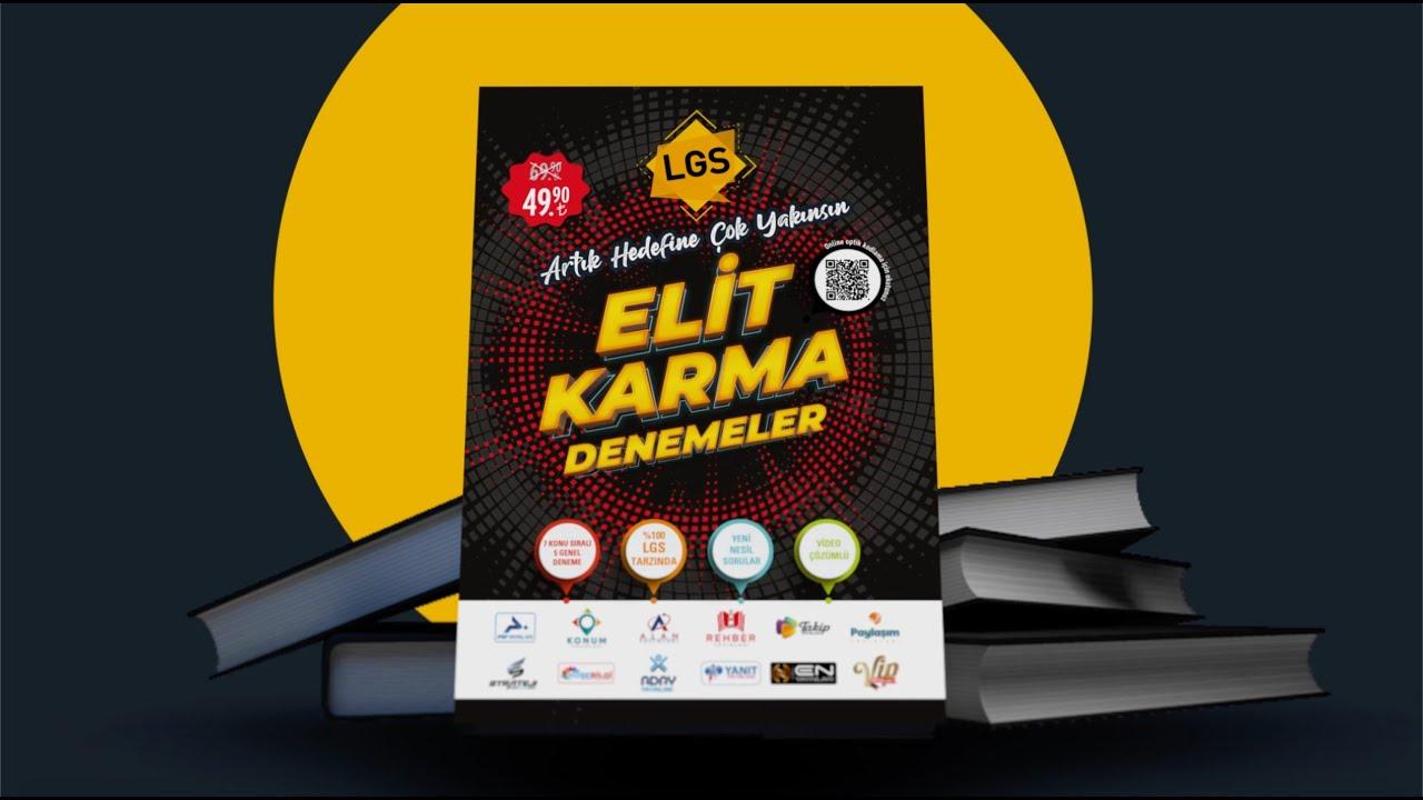 LGS Elit Karma Denemeler | 12 Farklı Yayından 12 Özel Deneme | LGS Kaynak Önerileri