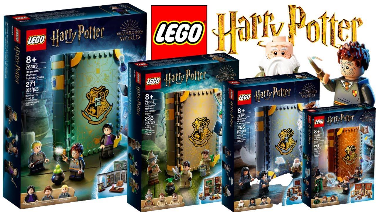 LEGO Harry Potter 2021 Hogwarts Moment Book Sets REVEALED! Neat Idea,  awesome sets! - YouTube