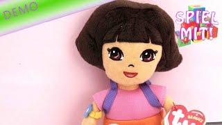 Dora the Explorer deutsch - Plüschfigur Beanie Baby review demo video