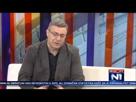 Micko kao A.Vucic na N1 (emisija Novi dan) - 31.12.2015