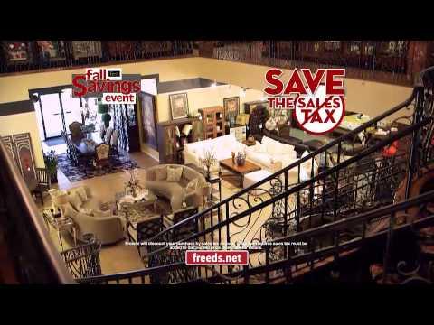 Freed 39 S Furniture Fall 2014 Sale Youtube