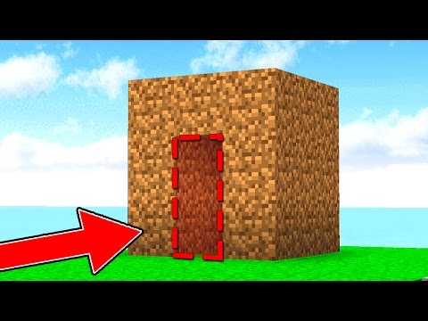 YOU CANNOT GET INSIDE THIS MINECRAFT HOUSE...