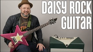 "Daisy Rock ""Star"" Guitar - Funky Guitar Designs"