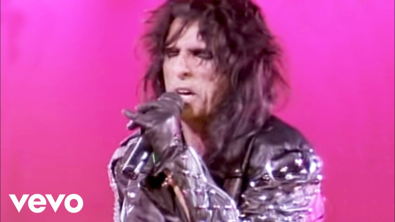 alice cooper poison from alice cooper trashes the. Black Bedroom Furniture Sets. Home Design Ideas