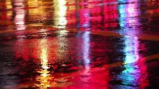 Video Hujan di Malam Hari