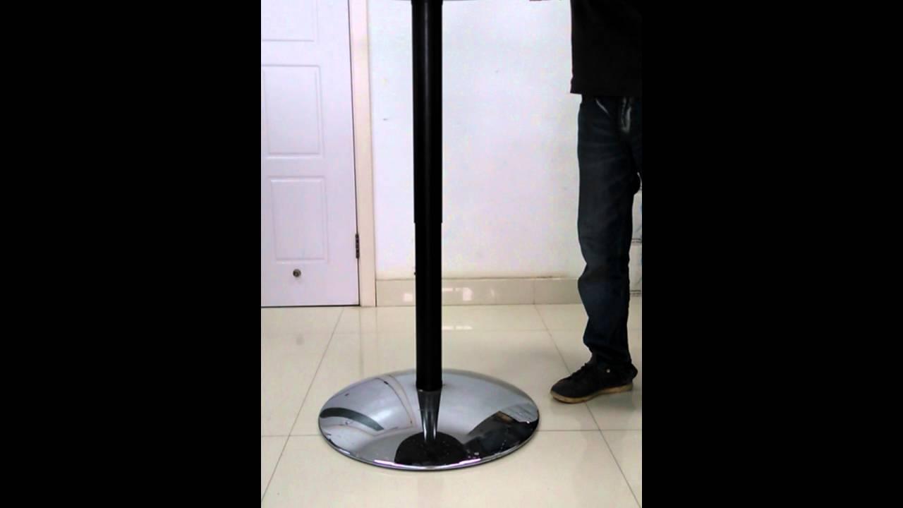 Hydraulic Height Adjustable Coffee Table