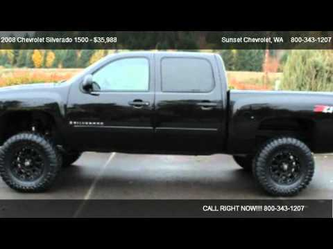 2008 chevrolet silverado 1500 1500 4x4 lt3 for sale in the best of the best wa 98390 youtube. Black Bedroom Furniture Sets. Home Design Ideas