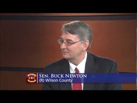 Sen. Buck Newton (R-Wilson) Discussed 2013 Energy Exploration Bill On UNC-TV