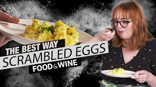 How To Make Perfectly Fluffy Scrambled Eggs | The Best Way