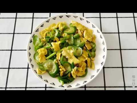 丝瓜炒蛋的家常做法,嫩滑爽口,好吃极了
