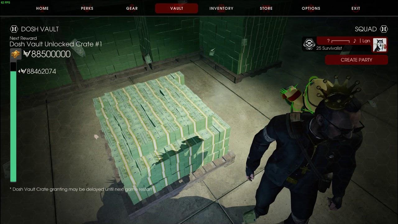 Killing Floor 2 Use Cheat Engine To Hack 95 Million Dosh Vault Youtube